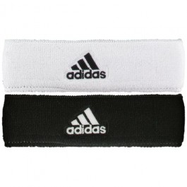Adidas Reversible Headband Black White