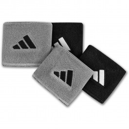 Adidas Reversible Wristband Small Black/Grey