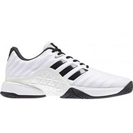 Adidas Mens Barricade 2018 White Tennis Shoe