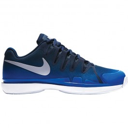 Nike Mens Zoom Vapor 9.5 Tour Navy Tennis Shoe