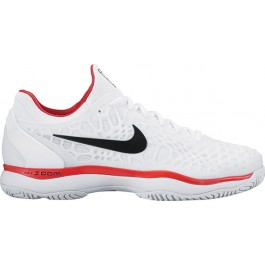 Nike Mens Zoom Cage 3 White Tennis Shoe