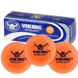 Viking Extra Duty Platform Tennis Balls Orange (3 Ball Sleeve)