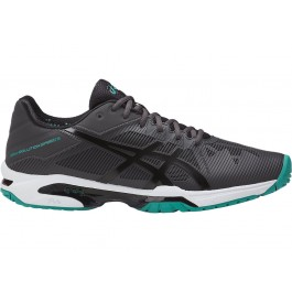 Asics Mens Gel Solution Speed 3 Dark Grey Tennis Shoe