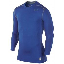 Nike Mens Hyperwarm Fitted Crew Front
