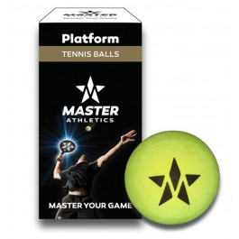 Master Athletic Platform Ball (2 Pack) Paddle Tennis Balls