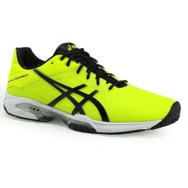 Asics Mens Gel Solution Speed 3 Yellow