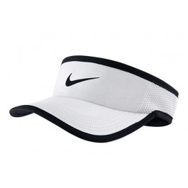Nike Feather Light 3.0 Visor White Hat