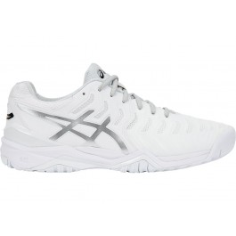 Asics Mens Gel Resolution 7 White Tennis Shoe