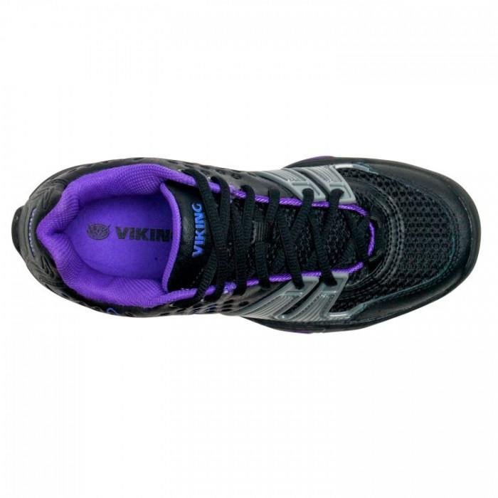 Viking Womens T22 Shoe Black Purple