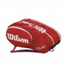 Wilson Mini Tour 6 Pack Red Bag Tennis Paddle