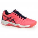 Asics Junior Gel Resolution Pink Tennis Shoe