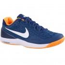 Nike Mens Zoom Cage 2 Blue  Tennis Shoe
