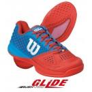 Wilson Mens Rush Pro Glide Sliding Tennis Shoe