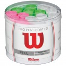Wilson Pro Overgrip Perforated Assorted Tub (60 Pieces)