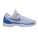 Nike Womens Zoom Cage 3 HC Blue Tennis Shoe