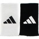 Adidas Reversible Long Wristbands White/Black