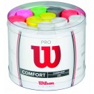 Wilson Pro Overgrip Assorted Tub (60 Pieces)